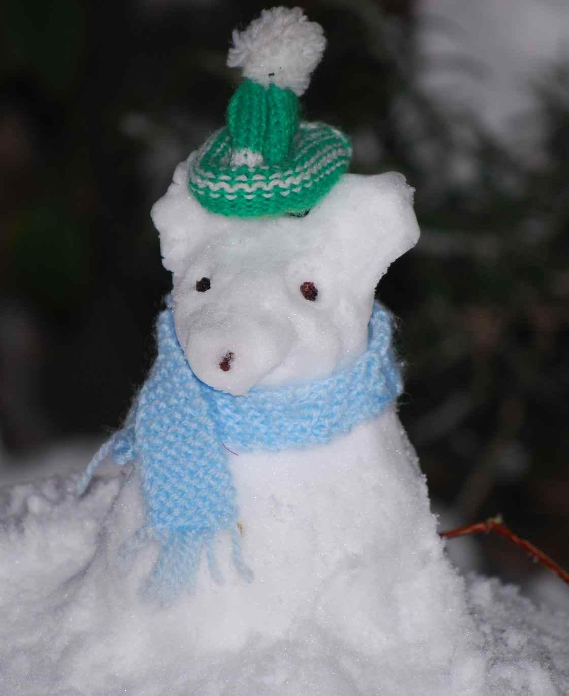 Overwinteren- sneeuwpop muis - epicmom