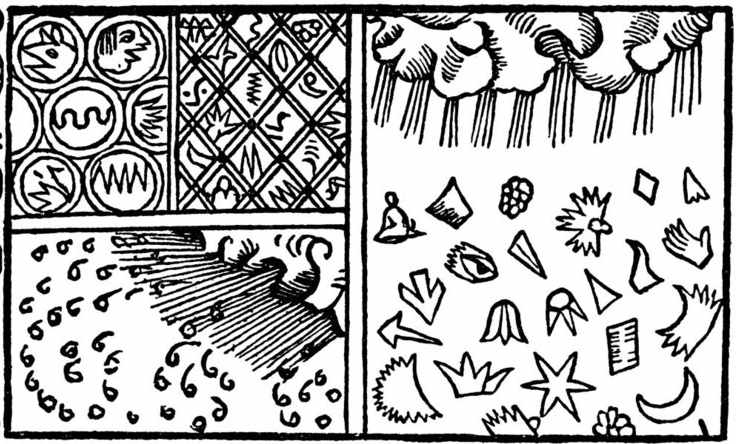 Olaus Magnus, sneeuwkristallen