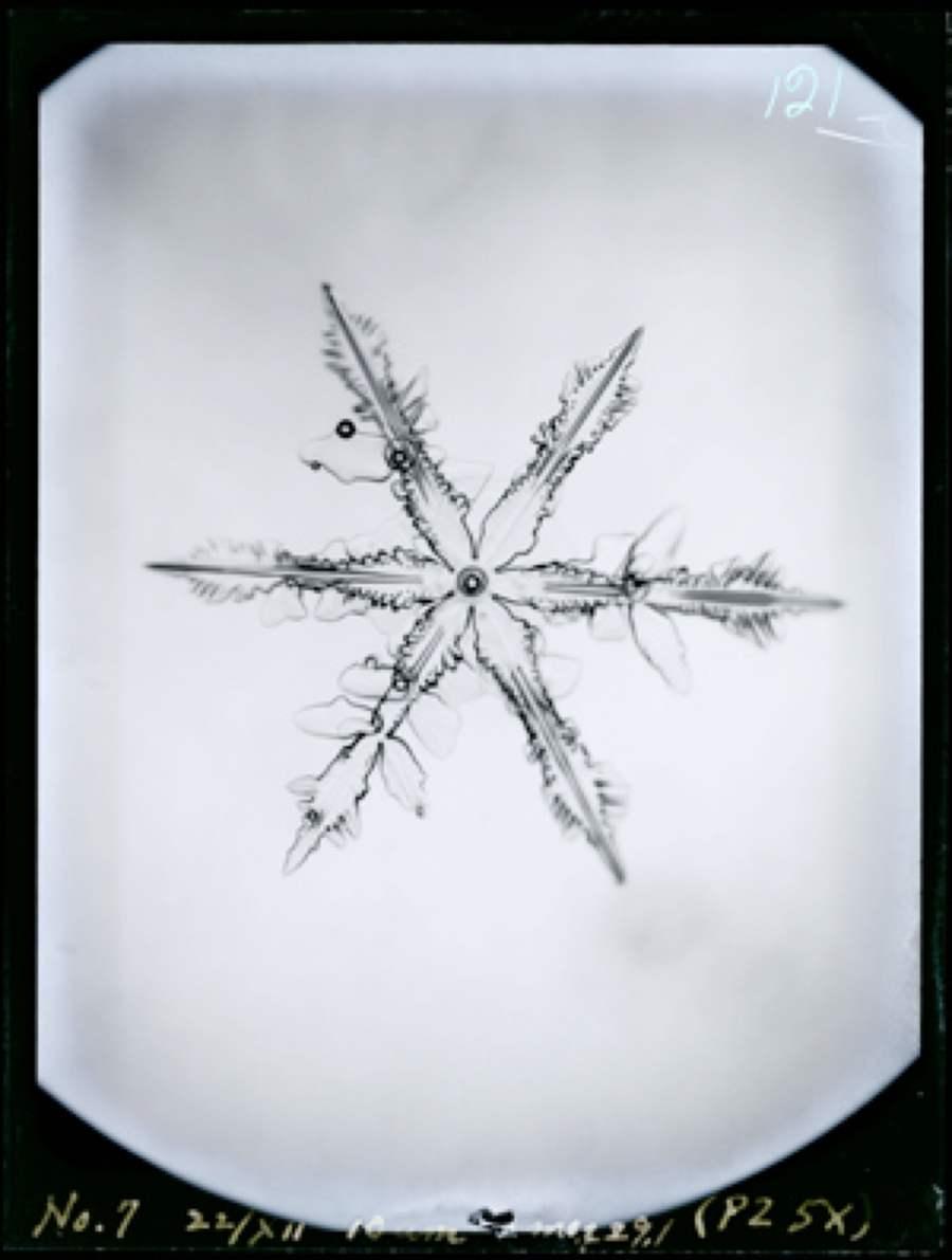 Ukichiro Nakaya, kunstmatige sneeuwkristallen